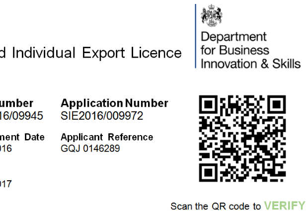 Part of a new digital licence