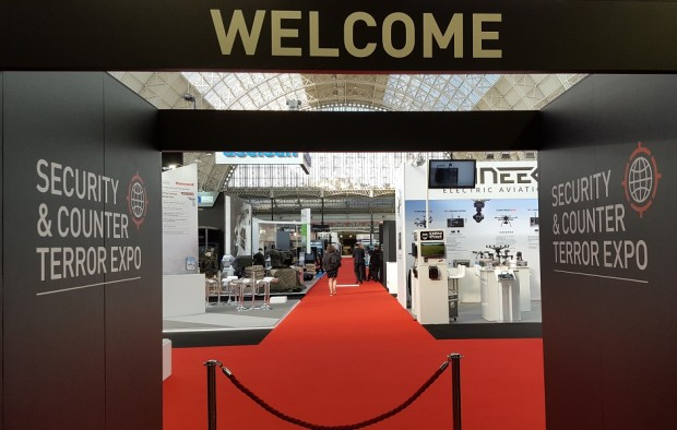 Entrance to CounterTerrorism and Security Expo