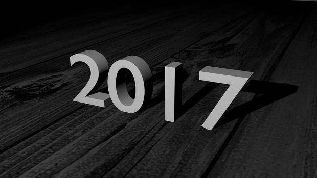 2017 3D text image
